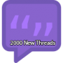 2000 New Threads